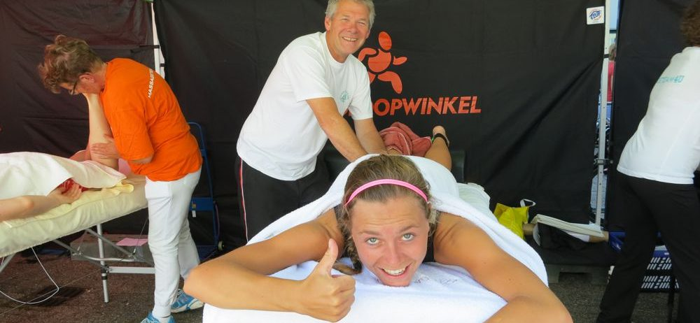Massageteam4U, een professioneel massageteam van enthousiaste, gediplomeerde masseurs voor het verzorgen van uw (sport)evenement!