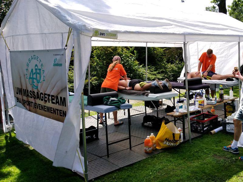Massageteam4U bij de Ringvaart Regatta 2018