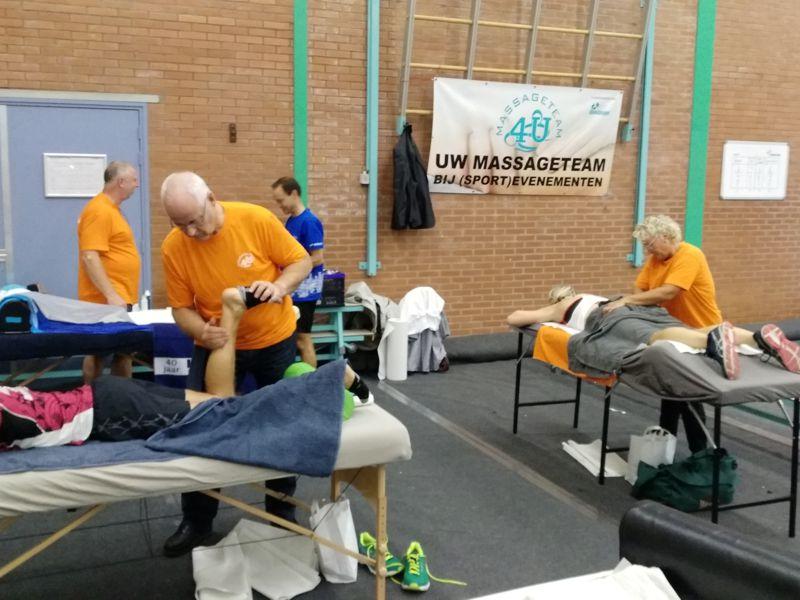 Massageteam4U bij de Vlietloop 2018